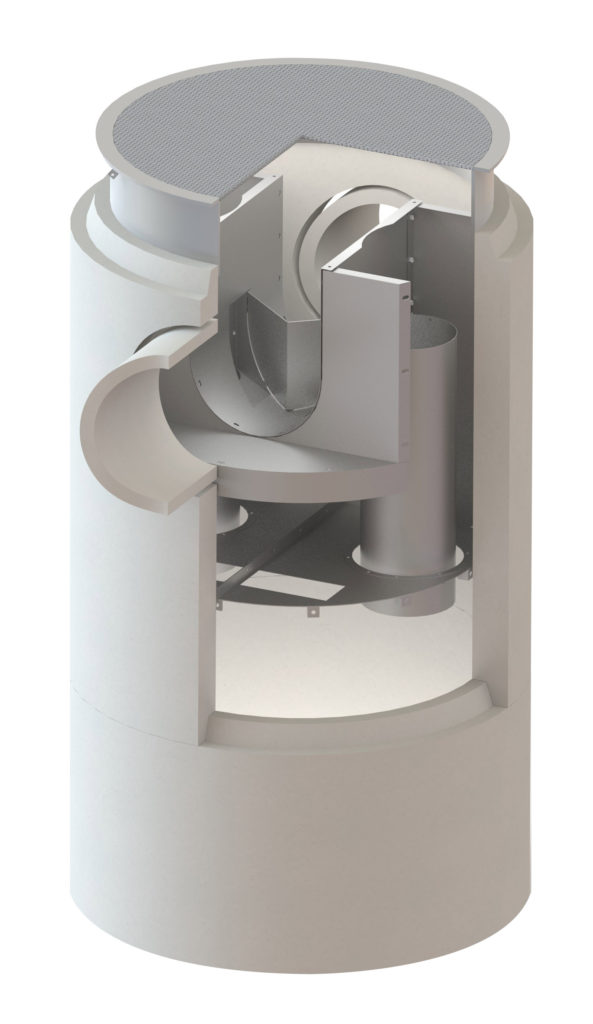 Dual Vortex Separator Dvs Circular Oldcastle