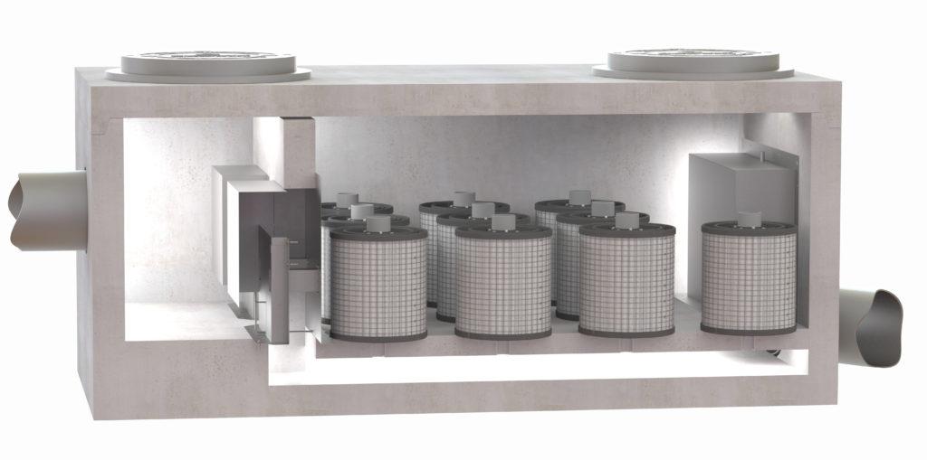 PerkFilter™ Media Filtration Vault   Oldcastle Infrastructure