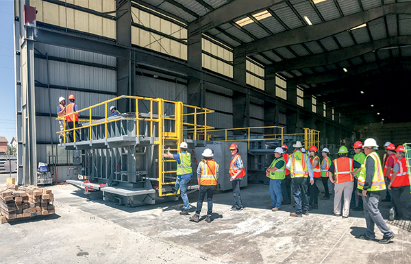 Oldcastle Infrastructure Chandler Facility Hosts AZ FOG Group Event