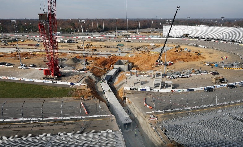 Precast Box Culvert System Used for New Pedestrian Tunnel Installed at Richmond Raceway