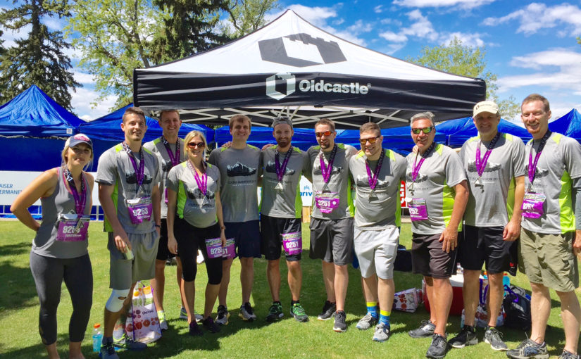 Oldcastle Infrastructure Runs Colorado's Largest Corporate Challenge