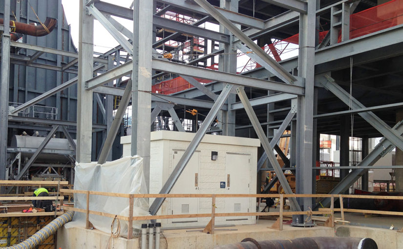 Precast Concrete Adds Strength to Explosion‐Proof Restroom for Gas Transmission Facility