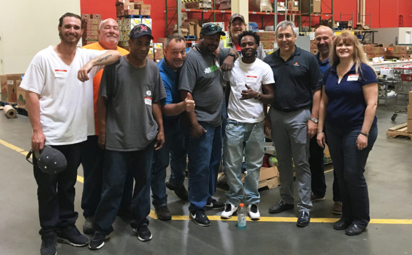 Oldcastle Infrastructure Maryland Employees Volunteer at Maryland Food Bank
