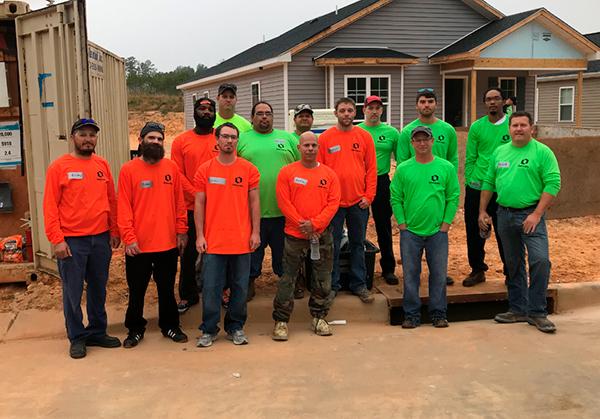 Oldcastle Infrastructure Joins Forces with Habitat for Humanity in Raleigh, North Carolina
