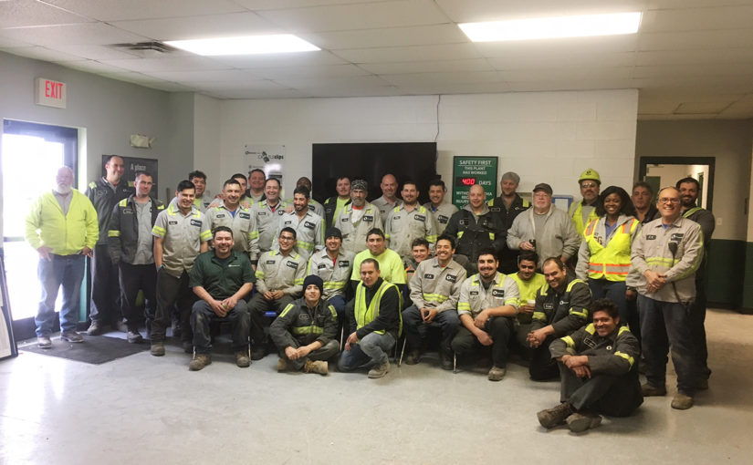 Oldcastle Infrastructure Lexington marks one year without a lost‐time accident