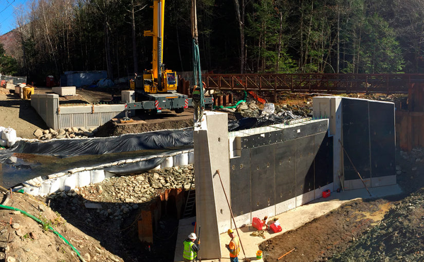 Mass DOT Replaces Savoy Road Bridge over the Chickley River Using Accelerated Bridge Construction