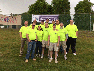 Oldcastle Infrastructure New England Participates in American Cancer Society's Relay for Life of Greater Providence