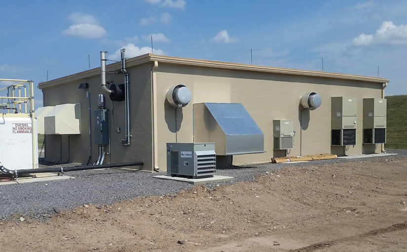 Precast Wall Panel System Used for Airport FAA ALS Generator Building