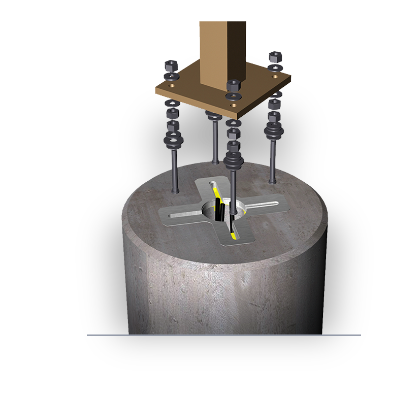 Light Pole Pedestal: Oldcastle Infrastructure