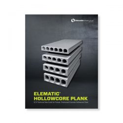 Hollowcore Elematic Technical Brochure